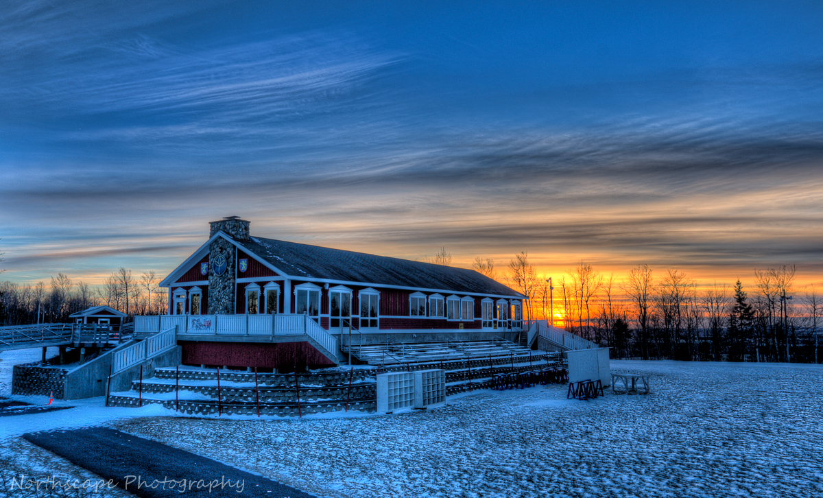 Sunset At The Nordic Heritage Center